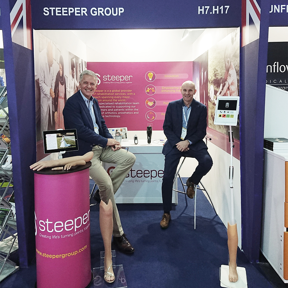 Steeper Exhibits at Arab Health in Dubai