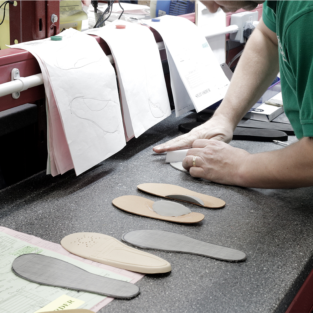 Insoles Manufacturing: Sculpted Support