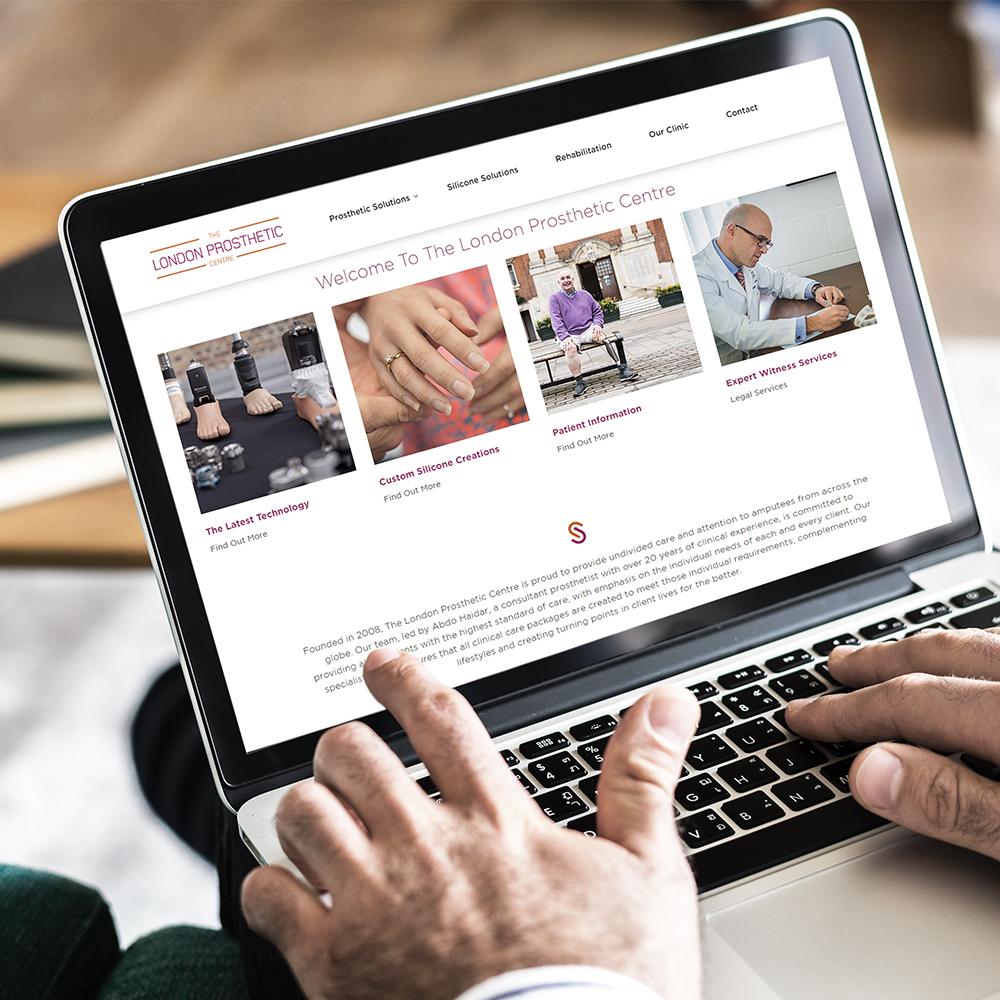 New Website Launched for The London Prosthetic Centre