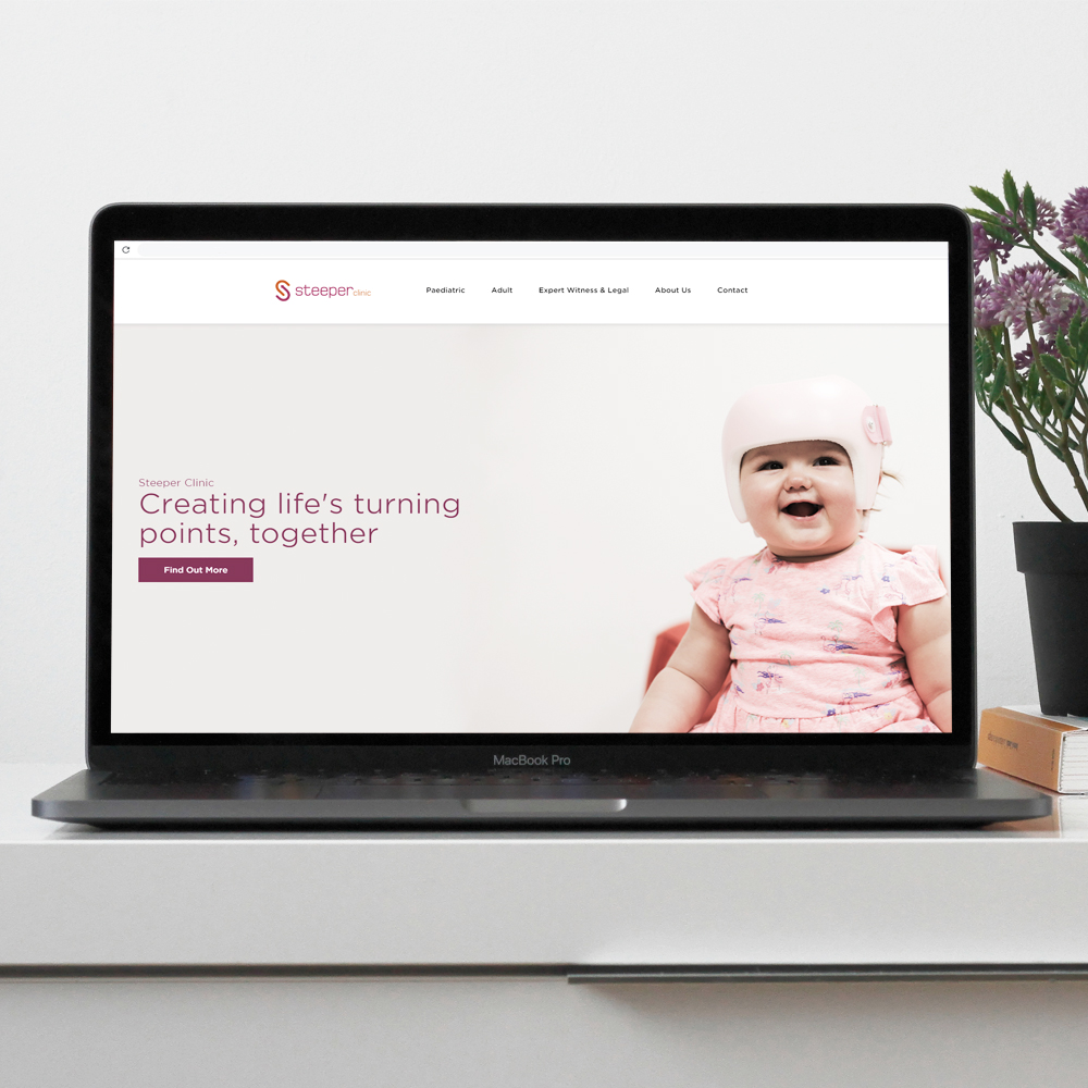 Steeper Clinic's New Website Has Launched!