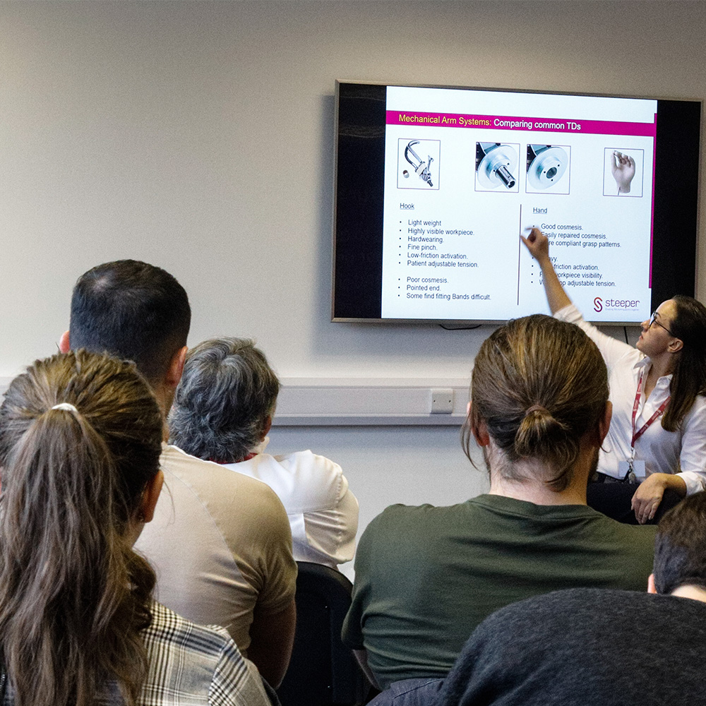 Highlights of our Steeper Upper Limb Training Course