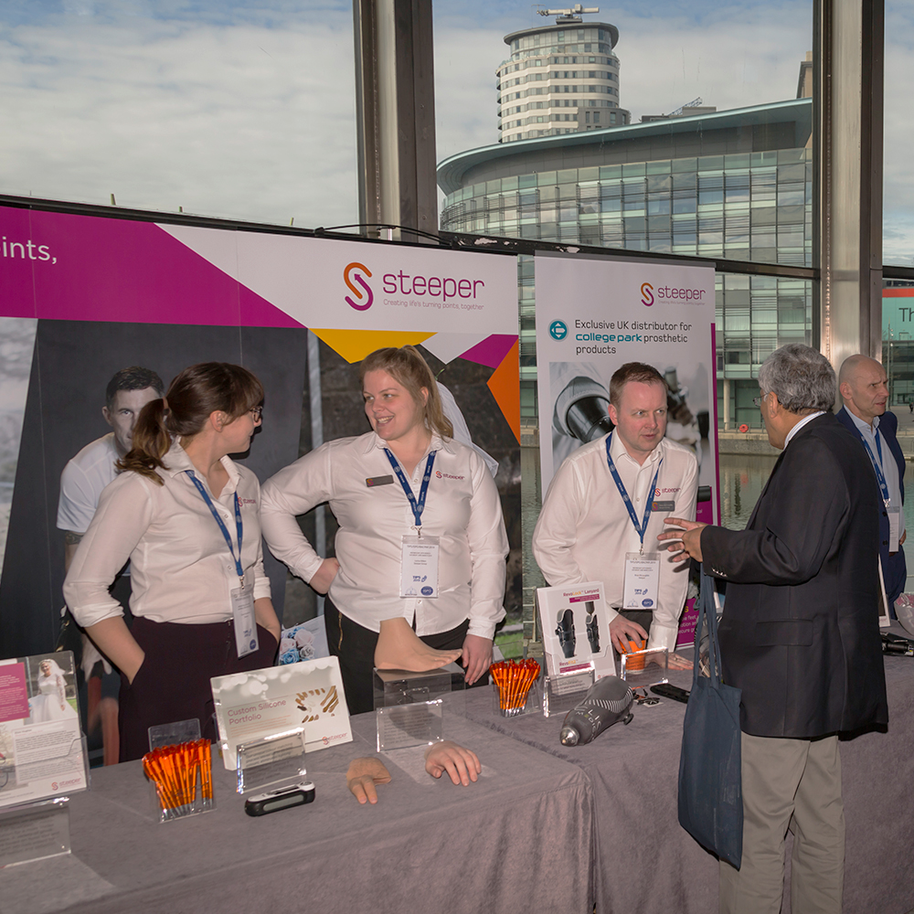 Steeper Team Present at Events Nationwide